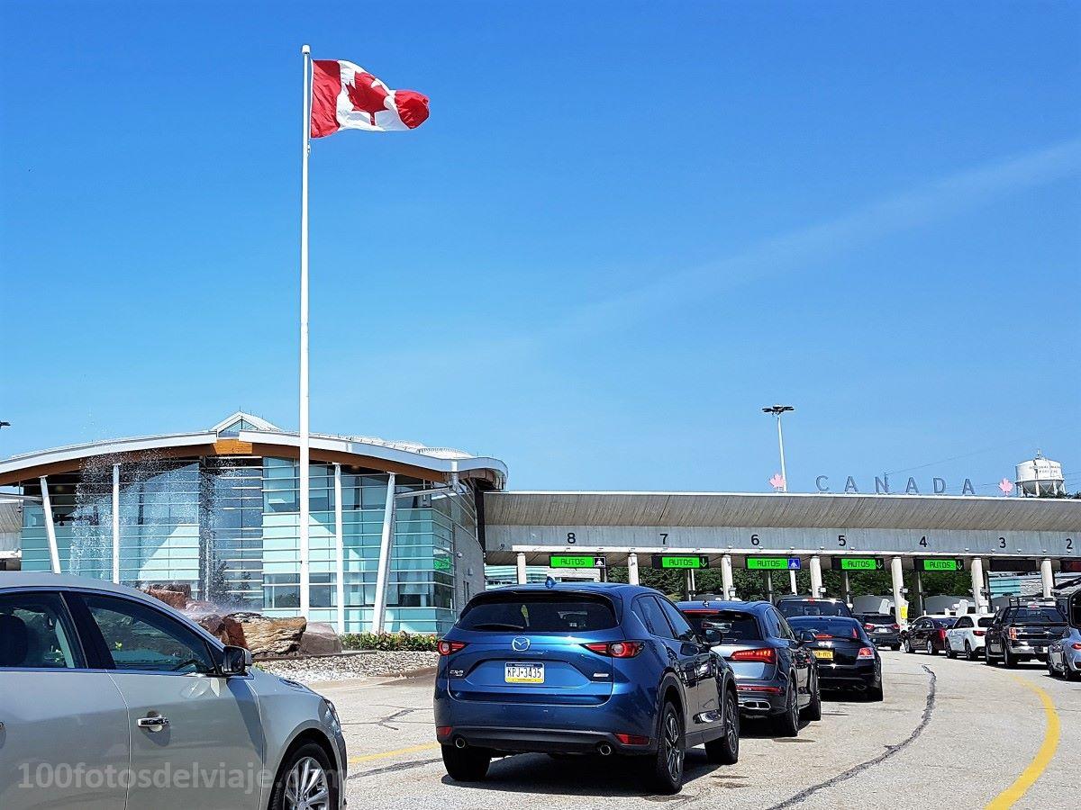 Puente de la Paz Frontera EEUU y Canadá