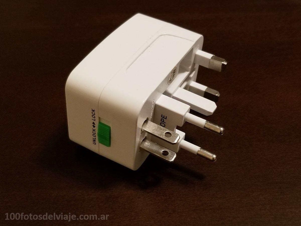 Adaptadores Eléctricos Múltiples con USB